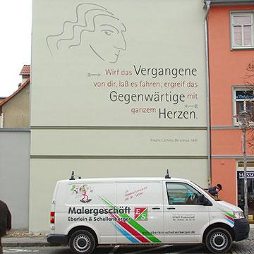 Graffiti-Beseitigung und Schutz
